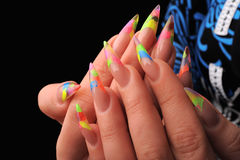 Manicures Royalty Free Stock Photo