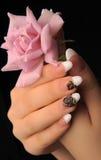 Manicures royalty-vrije stock afbeeldingen