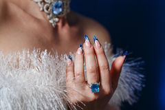 Manicures and Jewellery Stock Photo