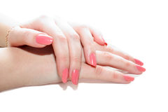 Manicuring Stock Image