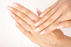 Manicuring Royalty Free Stock Photos