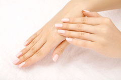 Manicuring Royalty Free Stock Image