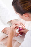 Manicurist Stock Image
