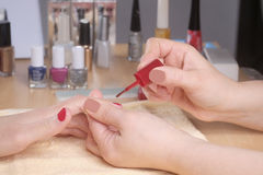 Manicurist Royalty Free Stock Photos