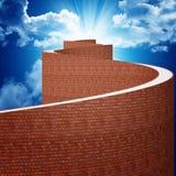 Manier aan hemel Stock Foto