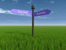 Manier aan succes Stock Foto