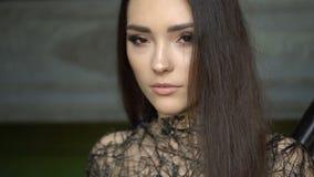 Manier Aziatische Vrouw stock footage