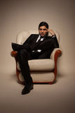Manier mannelijk model Royalty-vrije Stock Fotografie