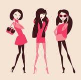 manier meisjes Royalty-vrije Stock Foto