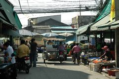 Manier van het Leven in Verse markt Royalty-vrije Stock Foto