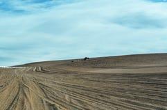 Manieren bij de woestijn Stock Foto's