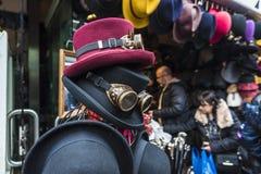 Manierwinkel in Camden Market in Londen, Engeland, het Verenigd Koninkrijk stock foto