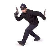 Manieur de pistolet Image stock