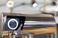 Manifacture video das câmaras de vigilância Foto de Stock