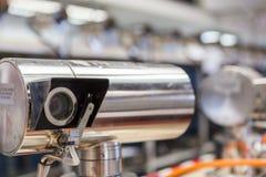 Manifacture visuel de vidéos surveillance Photographie stock