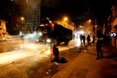Manifest in Sao Paulo/in Brasilien Lizenzfreie Stockfotos