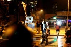 Manifest in Sao Paulo/in Brasilien Lizenzfreies Stockbild