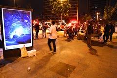 Manifest in Sao Paulo/in Brasilien Lizenzfreie Stockbilder