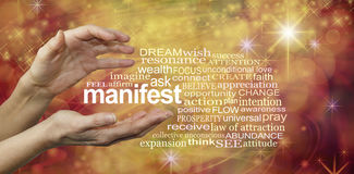 Manifest Your Dreams Word Cloud
