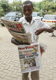 Manifestação de Ebola Imagem de Stock