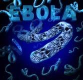 Manifestação de Ebola Foto de Stock Royalty Free