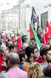 Manifestação de Mavi marmara Fotos de Stock Royalty Free