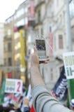 Manifestação A de Mavi marmara Imagens de Stock Royalty Free