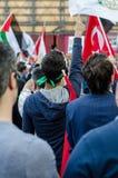 Manifestação de Mavi marmara mim Fotos de Stock