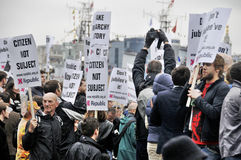 Manifestação do republicanismo Imagens de Stock Royalty Free