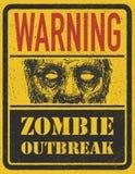 Manifestação do zombi. Mão tirada. Vetor Eps8 Imagens de Stock
