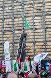 Manifestação IX de Mavi marmara Fotos de Stock Royalty Free