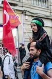 Manifestação VIII de Mavi marmara Imagens de Stock