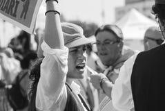 manifestación Foto de archivo libre de regalías
