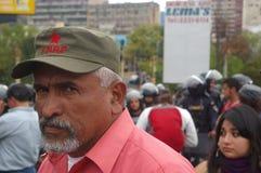 Manifestación contra la reelección Juan Orlando Hernandez Honduras del 21 de enero de 2018 3 imágenes de archivo libres de regalías