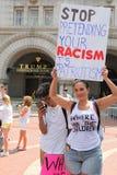 Manifestación en DC imagen de archivo libre de regalías