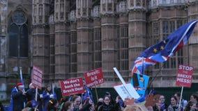 Manifestación y demostración de Brexit en Londres