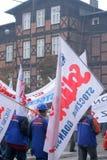 manifestacja pracownicy fotografia stock