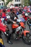 Manifestantes. Foto de archivo libre de regalías