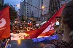 manifestantes Fotografía de archivo