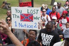 Manifestantes dos direitos civis Fotografia de Stock