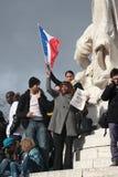 Manifestation against terrorism in Paris. Stock Images