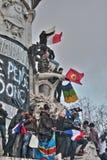 Manifestation against terrorism in Paris. Stock Photography