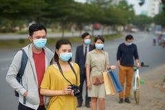 Manifestation de grippe Photographie stock libre de droits