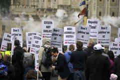 Manifestation de républicanisme Photographie stock