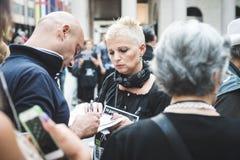 manifestation för 269 liv i Milan på September, 26 2013 Arkivbild