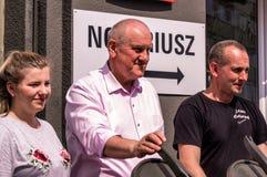 Manifestation för Maj dag Royaltyfri Fotografi