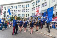 Manifestation för Maj dag Royaltyfri Foto