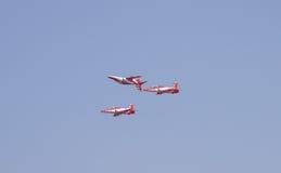 Manifestazione aerea dell'India Fotografie Stock