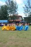 Manifestazione culturale della Tailandia Fotografia Stock