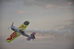 Manifestazione degli aerei di acrobazie aeree fotografie stock libere da diritti
